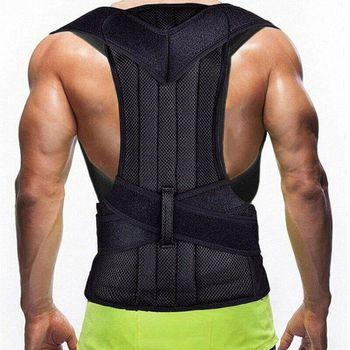 Posture Corrector Back Support for Men Brace Belt Adjustable Clavicle Spine Lumbar