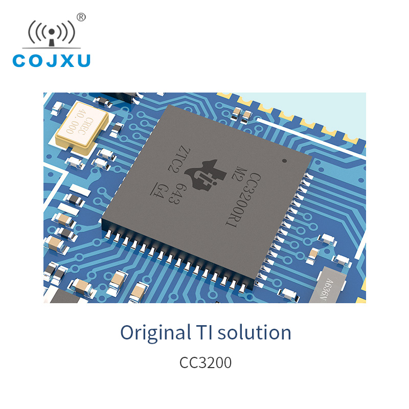 CC3200 Wifi Module 2.4GHz SMD rf Transceiver 2.4 ghz Wifi Transmitter Receiver For PCB Antenna E103-W02 image