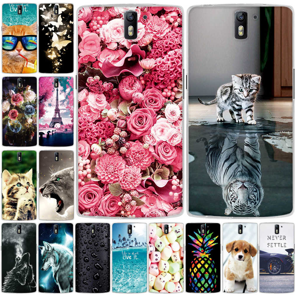 Phone Case for OnePlus One Case a0001 TPU Soft Cover for One Plus One 1 Cover Silicone Capa funda for OnePlus One 1+1 Phone Case