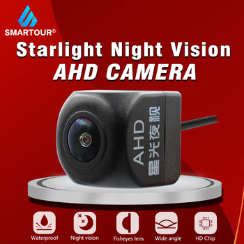 Smartour AHD 1080P Car Rear view camera Night Vision suitable for Universal Android large screen Multimedia system player radio image