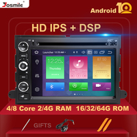 ISP DSP 4GB 64G 2 Din Android 10 Car DVD Player For Ford F150 F350 F450 F550 F250 Fusion Expedition Mustang Explorer Edge Radio