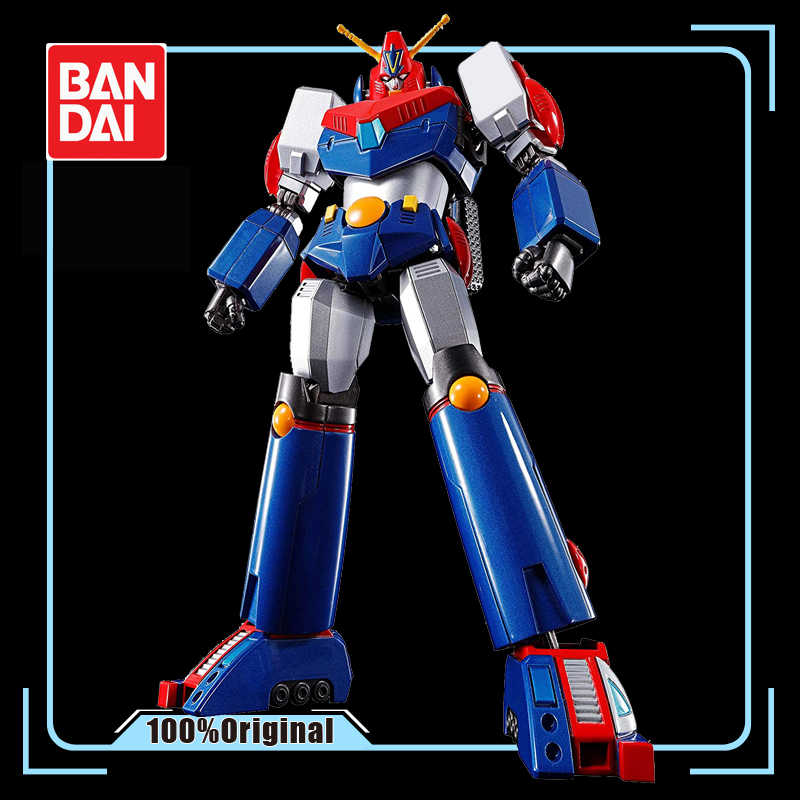 Bandai Soul Van Chogokin GX-90 Super Elektromagnetische Machine Voltes V 18Cm Haoh Action Figures Model Modificatie Vervormbare
