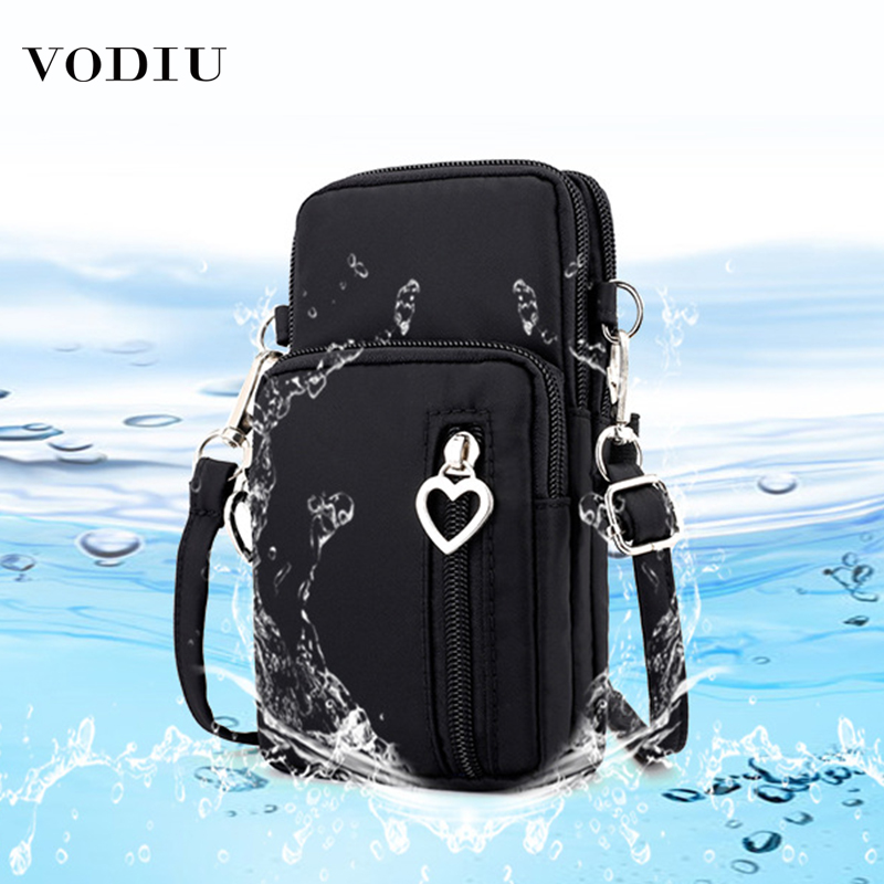 Women's Wallet Purses Fashion Brand Cute Short Slim Large Capacity Package Nylon Waterproof Coin Card Phone Purse Female Wallets