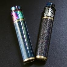 Original VapSea YUAN 24mm Diameter 18650 mod kit battery Mechanical mod for vape mod 18650 electronic cigarette mech mod Kit
