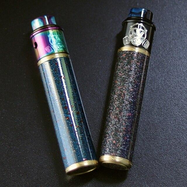 מקורי VapSea יואן 24mm קוטר 18650 mod ערכת סוללה מכאני mod עבור vape mod 18650 סיגריה אלקטרונית mech mod ערכת