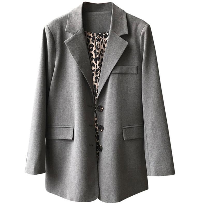 Women Suit Female Autumn Korean Version Loose Long Sleeve Women Blazer New Women Clothes Winter Clothes Outerwear Jacket Female