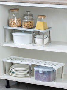 Storage-Shelf Cabinet-Holders Wardrobe Closet-Organizer Kitchen-Rack Space-Saving Home