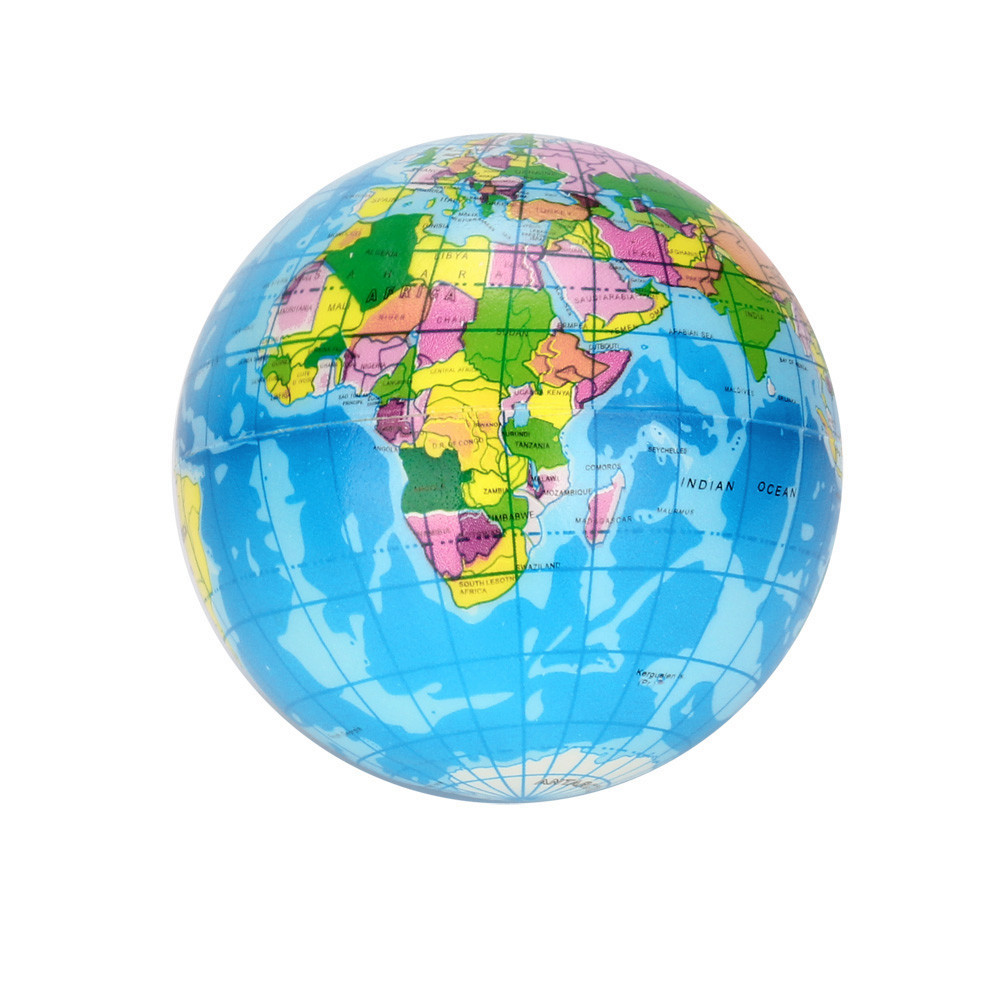 Earth-Ball-Toy Jumbo-Ball Globe Decompression-Toy Planet Stress-Relief World-Map Adults img2