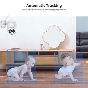 3MP PTZ беспроводная WiFi IP Камера авто AI человека обнаруживает CCTV видео наблюдения безопасности камера H.265 + ONVIF Аудио ИК полный цвет