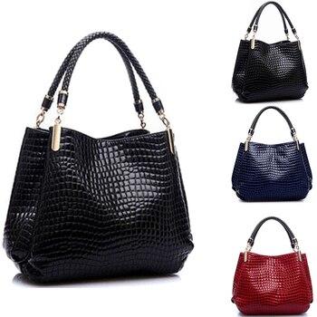 Famous Designer Brand Bags Women Leather Handbags 2020 Luxury Ladies Hand Purse Fashion Shoulder Bolsa Sac Crocodile