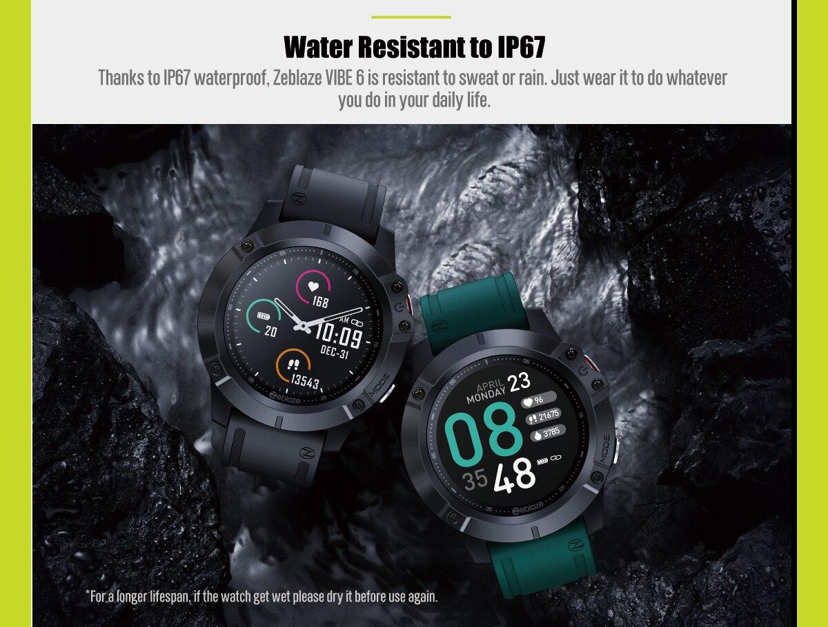 Zeblaze Vibe 6 smartwatch 7