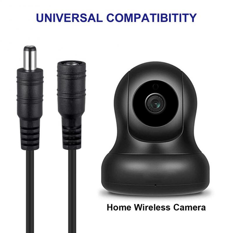 12V DC Power Cord 5.5*2.1mm Male Female Power Adapter Extension Cable 1m 2m 3m 5m 10m CCTV Camera Extend Wire For Home Appliance