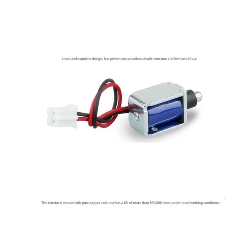 Mini DC 5V Electromagnetic Lock Small Electronic Lock Electric Bolt Cabinet Lock PXPE