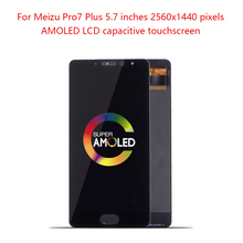 AMOLED 5.7 For Meizu Pro 7 Plus LCD Display Touch Screen with Frame For MEIZU Pro7 Plus LCD Replacement For MEIZU Pro7+ LCD би диас biaze pro7 plus meizu телефон оболочки защитный рукав все включено популярные бренды матовый черный оболочки матовой текстуры серии jk194