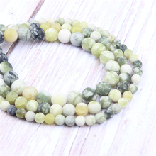 Frosted Black Lemon Natural?Stone?Beads?For?Jewelry?Making?Diy?Bracelet?Necklace?4/6/8/10/12?mm?Wholesale?Strand