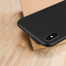 NILLKIN for iPhone XS Case for iPhone XR Case Carbon Synthetic Fiber Plastic Back Cover for Apple iPhone X XS MAX(China)