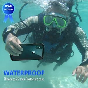 Image 2 - Custodia impermeabile per telefono IP68 per iPhone 12 11 Pro Max X XR XS MAX custodia in Silicone trasparente per Apple SE 8 7 6S Plus Cover antiurto