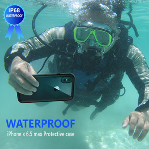 Image 2 - IP68 Waterproof Phone Case For iPhone  12 11 Pro Max X XR XS MAX Clear Silicone Shell for Apple SE 8 7 6S Plus Shockproof Cover