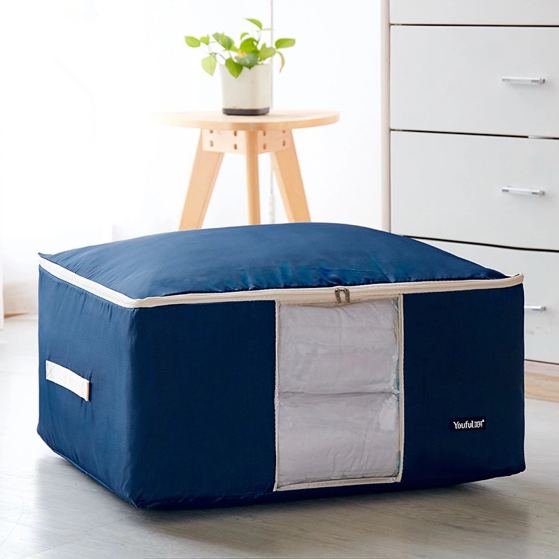 Washable Oxford Cloth Quilt Clothes Dirty Clothes Storage Bag Quilt Bag Quilt Cloth Storage Bag Sorting Bag Soft Storage Box Cle