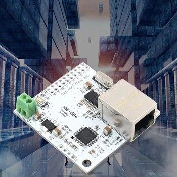 8 Channel Ethernet Network Module Controller Switch 5V Internet Relay Module P2P WIFI Module Mobile Phone Control 7 24v ethernet 2 channel relay board delay switch smart home controller module