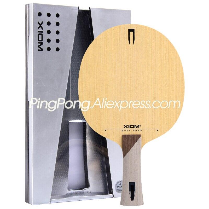 XIOM MUSA EURO Table Tennis Blade / Racket (KOTO 7 Ply Wood, OFF+) Original XIOM Ping Pong Bat / Paddle