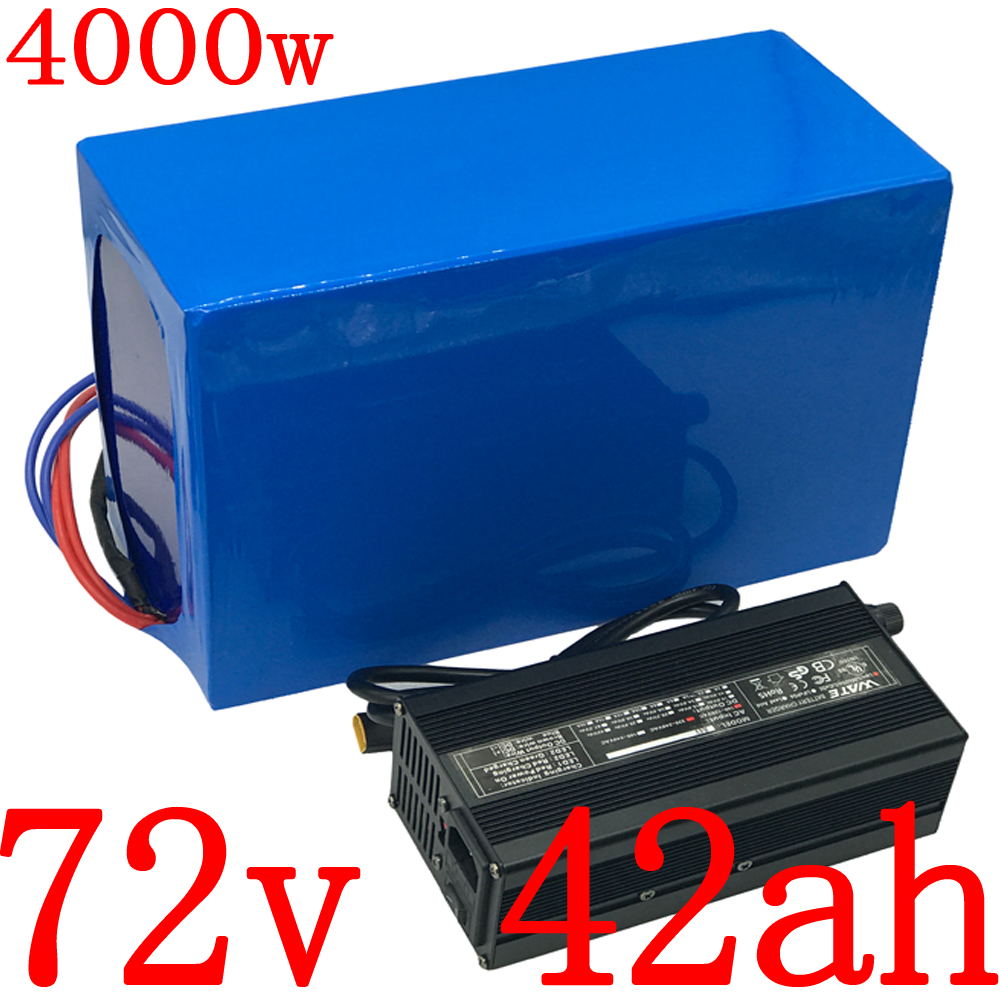 72V 2000W 3000W 4000W electric scooter battery 72V battery pack 72V 40AH electric bicycle battery 72v 40ah Lithium ion battery image