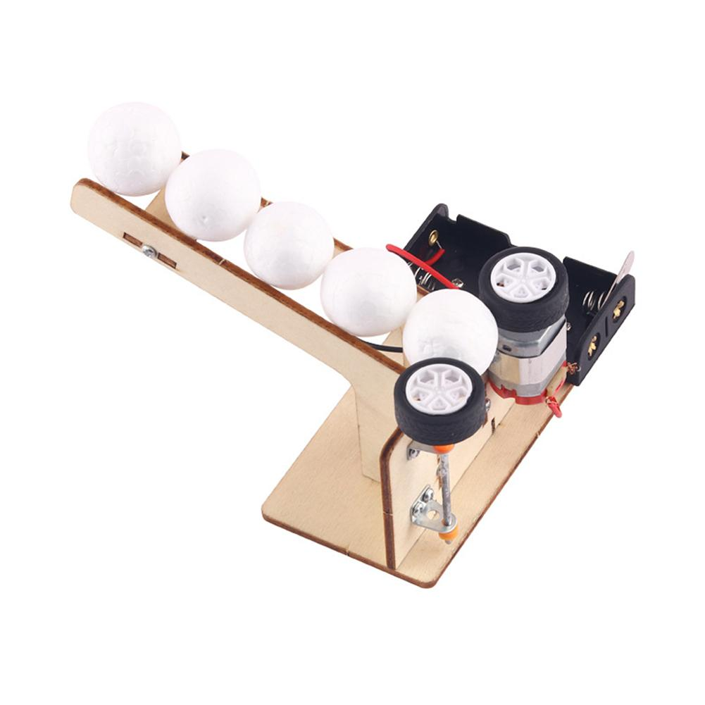 Креативный набор для самостоятельной сборки научных моделей, материалы для электрического шара, деревянные школьные проекты, обучающее об...