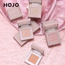 Монохромные тени для век HOJO палитра 12 цветов стойкие водостойкие мягкие тени для век Пудра не размазывающиеся тени для век макияж TSLM1