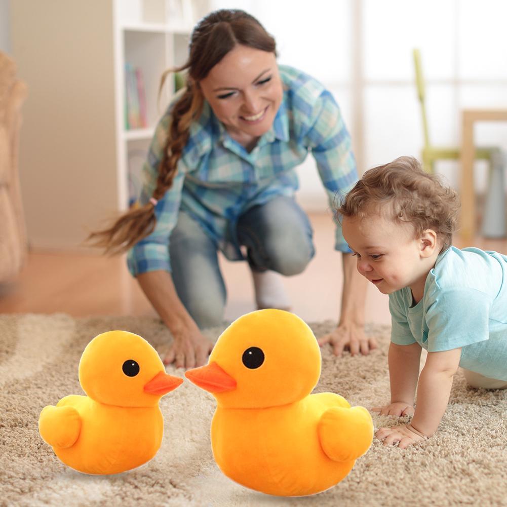 Lovely Cartoon Duck Stuffed Plush Toys Skillful Manufacture Kids Children Cute shape Superior Quality Hongkong Animal Toy