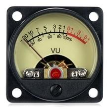 2 قطعة VU متر كبير ستيريو مضخم الصوت مجلس مستوى المؤشر قابل للتعديل