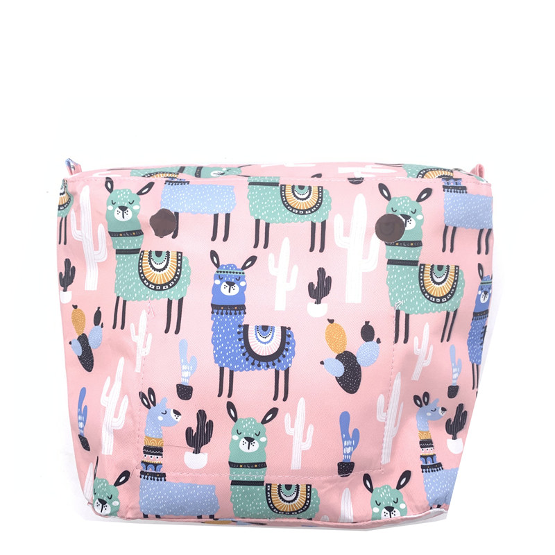 1 Organizer Pink  Mini Size Bag For Obag Mini Girls Bag