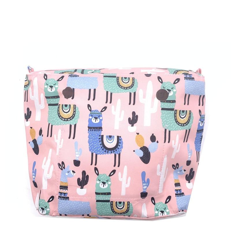 1 Organizer Pink  Mini Size Bag For Obag Mini Girls Bag