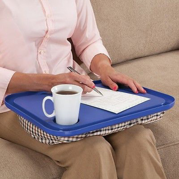 Portable Lap Desk For Laptop Chair Student Studying Homework Writing Dinner Tray For Bed Laptop Stand Holder