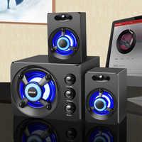 Altavoz de graves estéreo 3D de gama completa, altavoz portátil para 100%, PC, altavoz para música, USB, ordenador, altavoces para ordenador portátil, TV Home