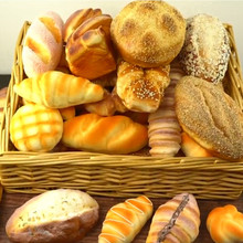 Artificial Fake cake Bread model Kitchen cabinet store restaurant dining room decoration Simulation Food props