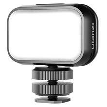 Ulanzi VL28 6500K مصباح Led صغير الفيديو الضوئي ملء لينة ضوء مع الناشر 1.4 واط 120Lux Type C شاحن المحمولة vloglight