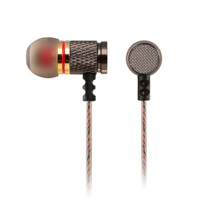 Image 4 - Brand New KZ EDR1 Special Edition Gold Plated Housing Earphone with Microphone HD HiFi In Ear Stereo Bass Earbuds for Phone