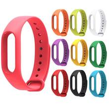 Silicone Replace Watch Strap Wristband for Xiaomi Mi Band Smart Bracelet Watch Band Health Smart Bracelet Watch Band for Mi Band(China)