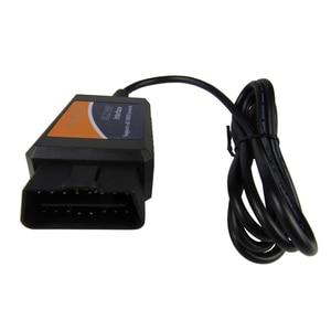 Image 5 - ELM327 – outil de Diagnostic automatique de voiture, Scanner avec Interface USB, prise OBD2/OBDII, 327 V 1.5, puce FT232RL, ELM327 V1.5
