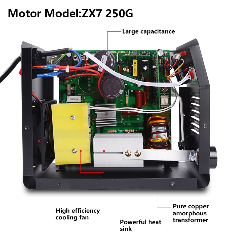 Image 4 - Handskit Welding Machine ARC 300 Portable Electric Welder Semiautomatic Welding Reverse Welder for Welding Electric WorkArc Welders   - AliExpress