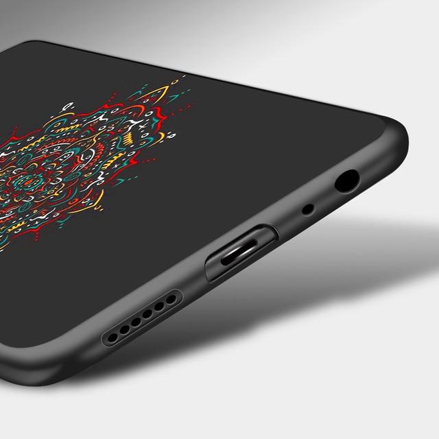 3D bricolage peint noir étui pour Xiao mi rouge mi Note 7 6 8 Pro étui en silicone souple étui Xiao mi rouge mi 8A 7A 6A K20 mi 9T A3 8T couverture