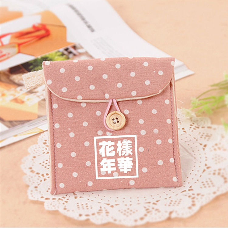 Bulletproof Boys The Mood For Love Related Products Korean-style Polka Dot Purse