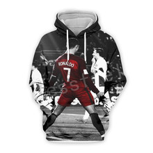 Tessffel Cristiano Ronaldo Athletes Tracksuit 3DfullPrint Hoodie/Sweatshirt/Jacket/shirts Mens Womens hiphop fit casual style-15