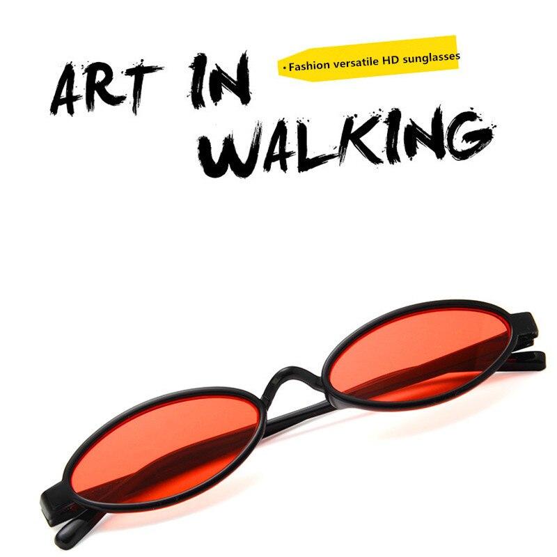 Small Sunglasses Goggle Oval-Style Beat Cool Match Classic Women UV400 Gafas-De-Sol Female