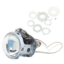 Bi Xenon HID Projector Lens Bixenon Headlight RHD LHD 3.0 Inch H1 Automobile H4 H7 Lights Lens halo HB3/4 HID Retrofit