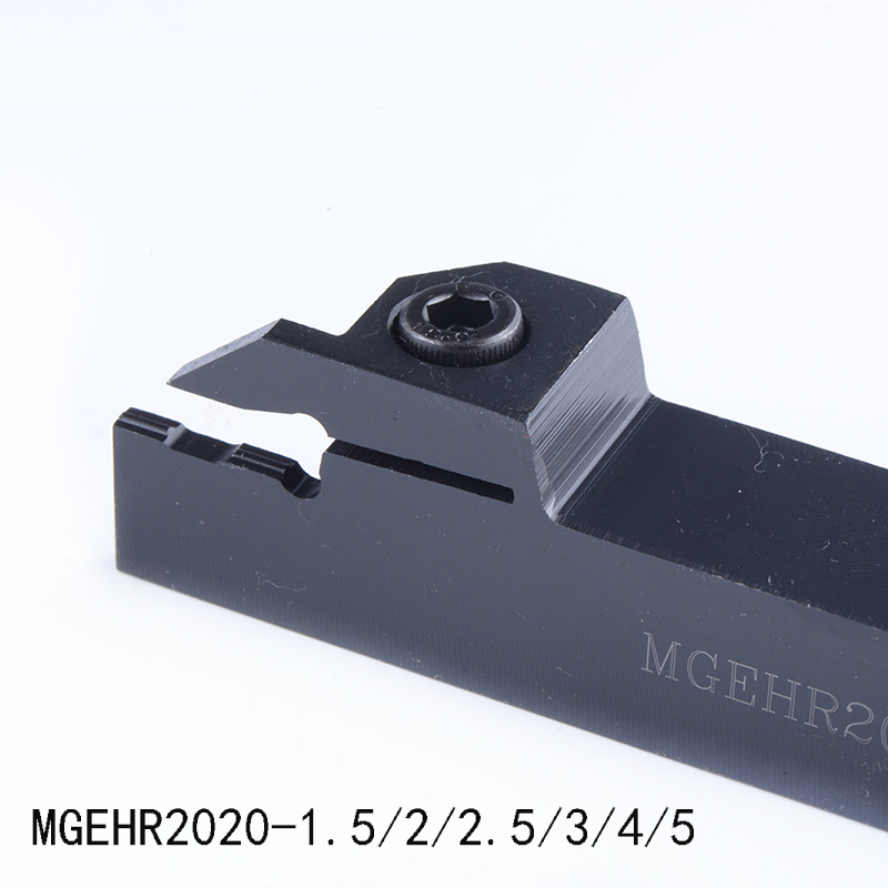 1PC MGEHR2020 1.5mm  2mm  2.5mm 3mm  4mm  5mm External Grooving CNC Lathe Bar Tool Holder High Quality Machining Tools