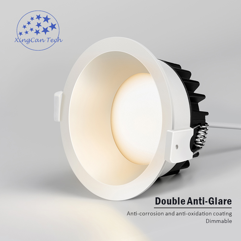 Anti-corrosion Dimmable LED Downlight Anti-Glare led Ceiling Lamp LED Spot Lighting Bedroom Kitchen led Recessed Downlight