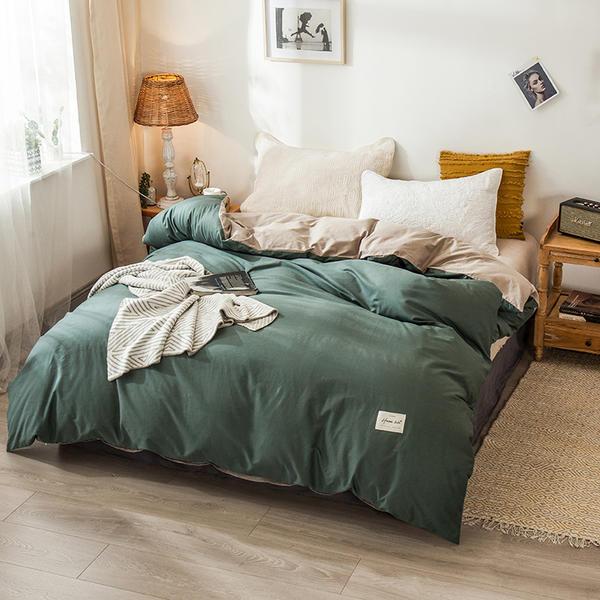 Комплект постельного белья из 100% хлопка, 1 пододеяльник/пододеяльник, размер 120*200/180*200/200*230/220*240, бесплатная доставка, 2020|Пододеяльник|   | АлиЭкспресс