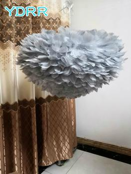 BMBY-Personality Feather lamps bedroom decoration Luminaires Feather lamp Nordic style Small pendant lights for living
