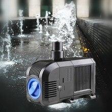 Купить с кэшбэком Aquarium Water Submersible Pump Filter Ultra-Quiet for Fish tank Pond, Fountain Hydroponic 500~2500L/h Adjustable